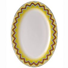 Richard Ginori Missoni Margherita Oval Plate / Pickle Dish 25cm